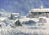 Winter on Monhegan